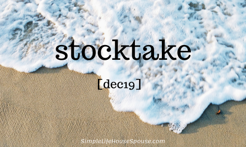 stocktake [dec19]