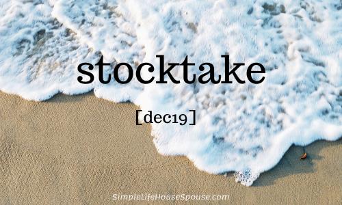 stocktake [dec19]